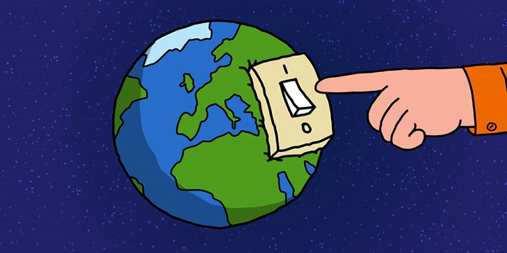 Switch Off the Lights for Earth Hour - Save Our World